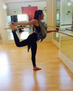 Back at the barre but with a little extra inhellip